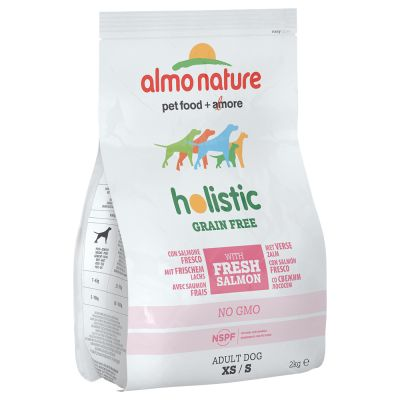 Almo Nature Holistic Grain Free XS/S Adult con Salmone & Patate