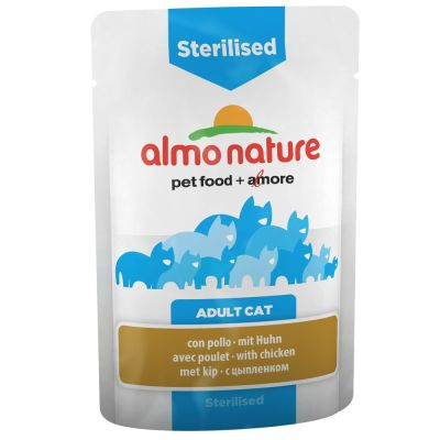 Almo Nature Sterilised Buste