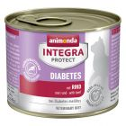 Animonda Integra Protect Adult Diabet Conservă 6 x 200 g