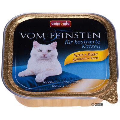 Animonda vom Feinsten para gatos esterilizados 6 x 100 g