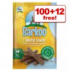 Barkoo Dental Snacks  - 100 + 12 Free!*