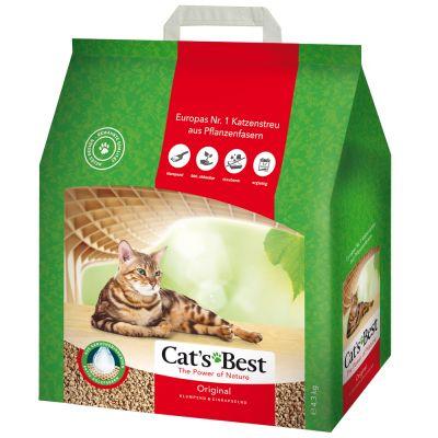 Cat's Best Öko Plus /Original arena vegetal aglomerante