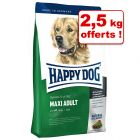 Croquettes Happy Dog Supreme Fit & Well 12,5/15 kg + 2/2,5 kg offerts !