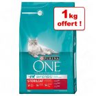 Croquettes PURINA ONE 5 kg + 1 kg offert !