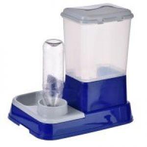 Distributore di acqua e cibo 2in1 for Cibo tartarughe acqua