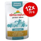 Ekonomično pakiranje: Almo Nature Urinary Support vrećice 12 x 70 g