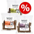 Ekonomično pakiranje Wolf of Wilderness grickalice 3 x 180 g