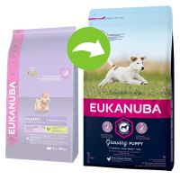 Eukanuba Growing Puppy Small Breed, kurczak