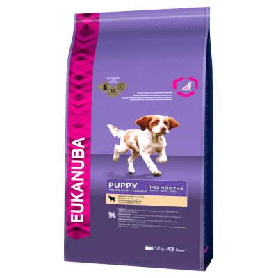 Eukanuba Puppy Food >> Eukanuba Puppy Food Lamb Rice Buy Now At Zooplus Ie