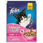 Felix Crunchy & Soft Junior con Pollo & Verdure