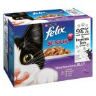 Felix Senior pouches In Gelee 12 x 100 g