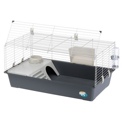 Lovely Ferplast Rabbit and Guinea Pig Cage 100 | Free P&P £29+ at zooplus! HH56