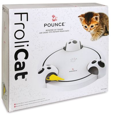 FroliCat™ POUNCE™ Rotating Cat Toy