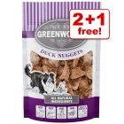 100g Greenwoods Nuggets Dog Treats - 2 + 1 Free!*