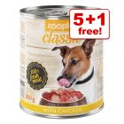 800g zooplus Classic – 5 + 1 Free!*