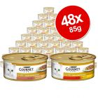 Gourmet Gold Delicacies Mixed Saver Pack 48 x 85g