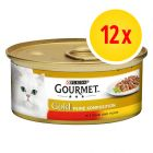 Gourmet Gold Double Delicacies 12 x 85g