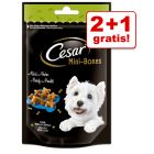 2 + 1 gratis! 3 x 75 / 100 g Cesar Mini Snacks