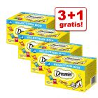3 + 1 gratis! 4 x Dreamies Selection Snackbox