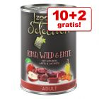 10 + 2 gratis! zooplus Selection 12 x 400 g