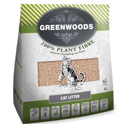 Greenwoods arena vegetal aglomerante