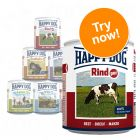 Happy Dog Pure Mixed Trial Pack 6 x 800g