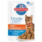 Hill's Adult Optimal Care 6 x 85 g para gatos