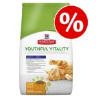 Hill's Adult 7+ Youthful Vitality 6 kg pienso para gatos ¡con gran descuento!