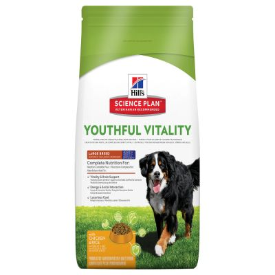 Hill's Canine 5+ Youthful Vitality Large Breed Pollo & Riso