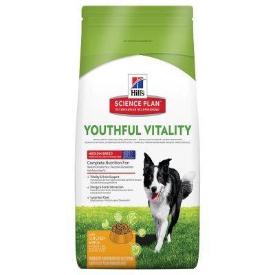 Hill's Canine 7+ Youthful Vitality Medium  Chicken & Rice