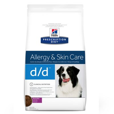 Hill´s Prescription Diet Canine D/D Allergy & Skin Care Hondenvoer Eend & Rijst