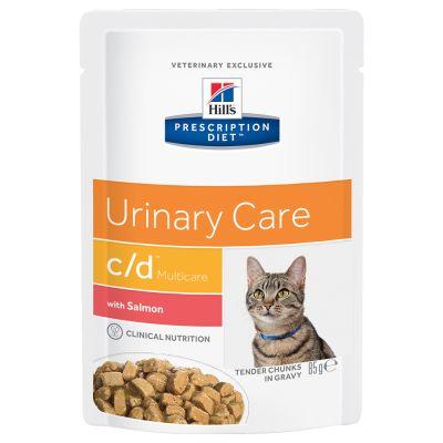Hill´s Prescription Diet Feline c/d Multicare - Salmon