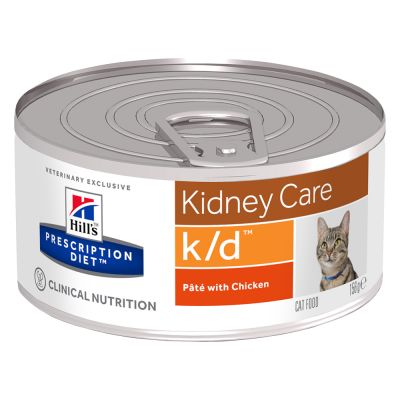 Hill's Prescription Diet k/d Kidney Care umido per gatti - lattine