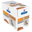Hill's Prescription Diet k/d + Mobility Kidney + Joint Care poulet pour chat