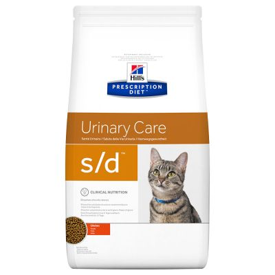 Hill's Prescription Diet s/d Urinary Care secco per gatti