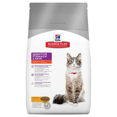 Hill's Science Plan Feline Adult Sensitive Stomach & Skin Pollo
