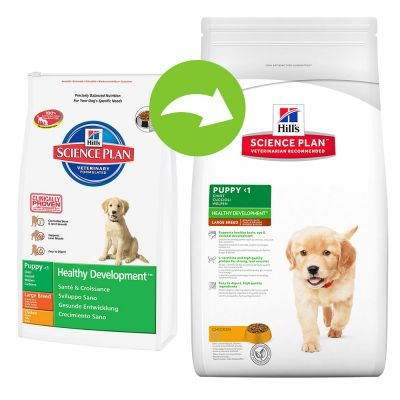 Hill's Science Plan Puppy Healthy Development Large met Kip
