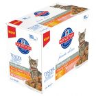 Hill's Young Adult Sterilised Cat Multipack 12 x 85 g para gatos