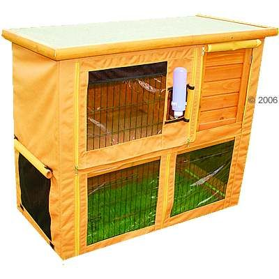 kaninchenkäfig für draußen