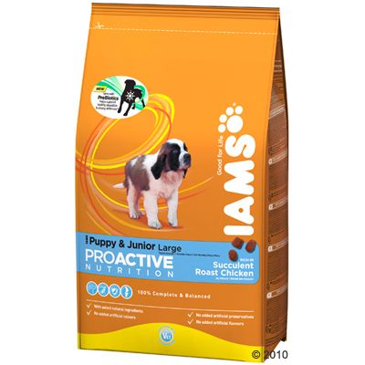 Iams Proactive Health Puppy & Junior Large Ricco di Pollo
