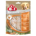 8in1 Delights Twisted Sticks - Chicken