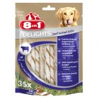 8in1 Delights Twisted Sticks 190 g 35 Stk