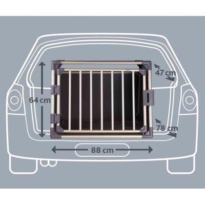 Jaula de transporte Trixie de aluminio edición especial