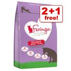 2kg Feringa Dry Cat Food - 2 + 1 Free!*