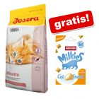 10 kg Josera + Animonda Milkies Harmony - Anti Hairball, 30 g gratis!