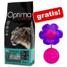 8 kg Optimanova + Kong Bat-a-bout Flower gratis!