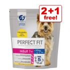 1.4kg Perfect Fit Small Dogs (<10kg) Dry Dog Food - 2 + 1 Free!*