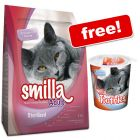 4kg Smilla Dry Cat Food - 125g Toothies Dental Care Snacks Free!*