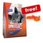 4kg Smilla Dry Cat Food - Woolly Mouse Cat Toy Free!*