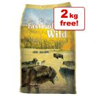 13kg Taste of the Wild Dry Dog Food + 2kg Extra Free!*